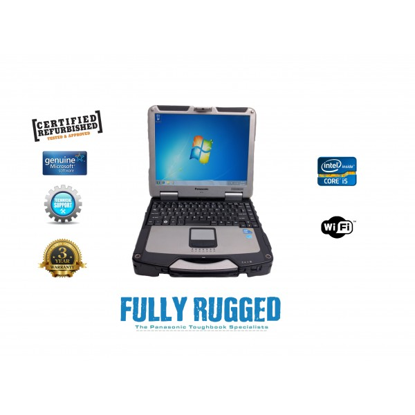 Panasonic Toughbook CF-31 MK4 Intel Core i5, Military Grade Laptop